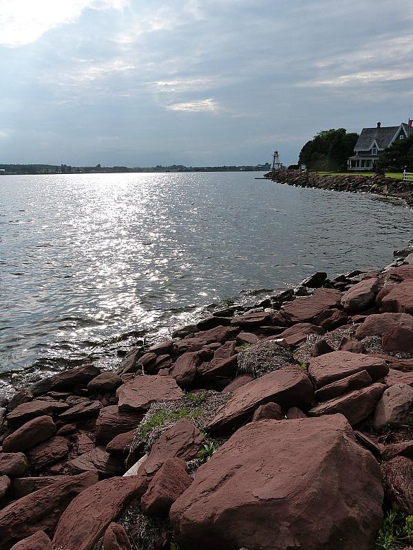 Coastline in Charlottetown, PEI