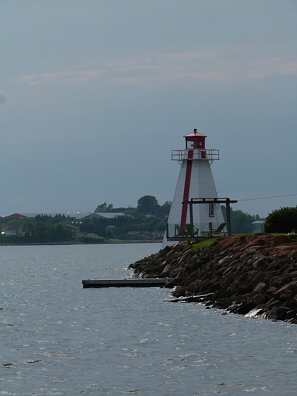 Lighthouse in Charlottetown on Prince Edward Island