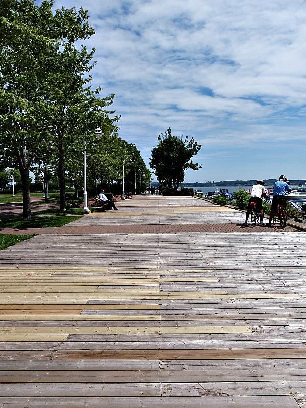 Harbour in Charlottetown, Prince Edward Island