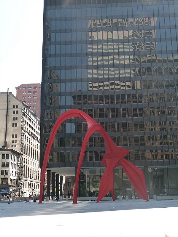 Modern art in Chicago