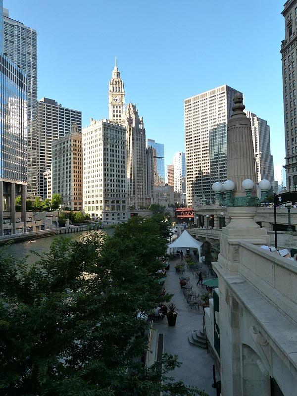 Beautiful Chicago cityscape