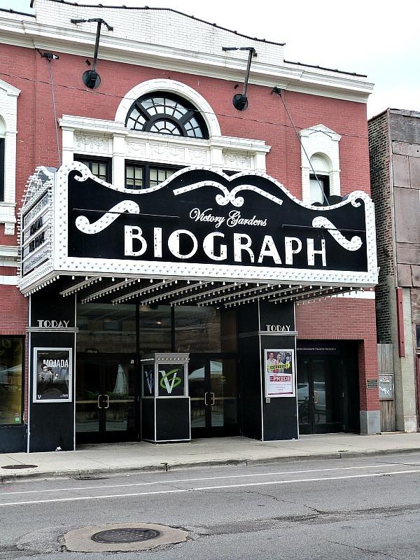 The Biograph Theatre in Chicago