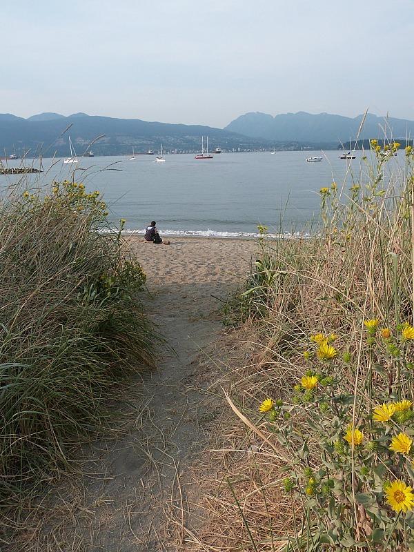 Jericho Beach in Kitsilano, Vancouver