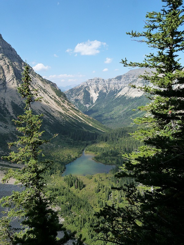 Incredible views from the Crypt Lake Trail in Waterton Lakes National Park, Canada