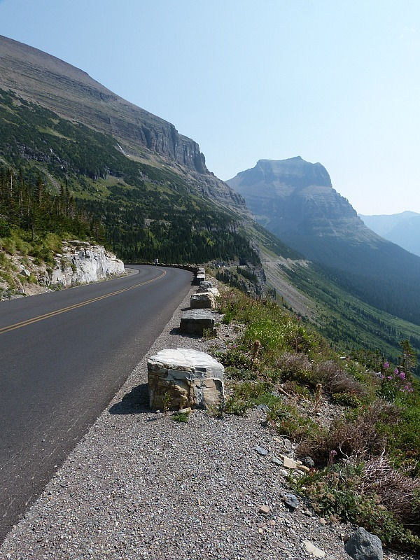 Driving in Glacier National Park in Montana - a Rocky Mountain Road Trip must