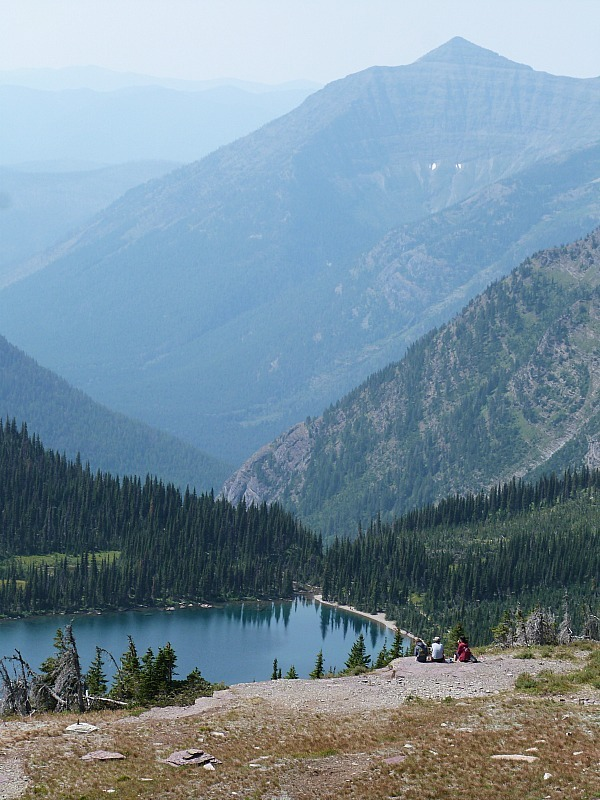 Amazing views in Glacier National Park in Montana - a Rocky Mountain Road Trip must