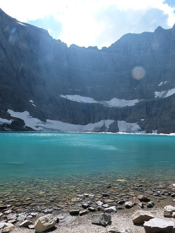 Iceberg Lake in Glacier National Park in Montana - a Rocky Mountain Road Trip must