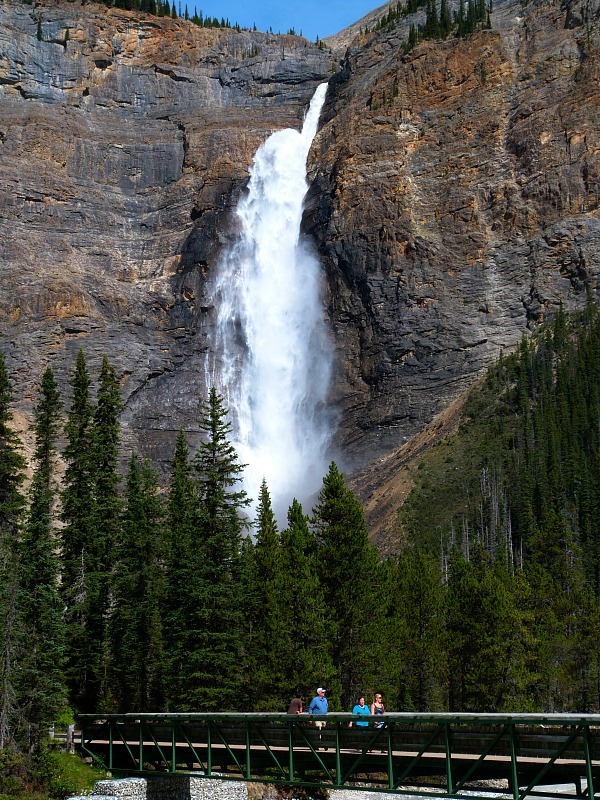 Takakkaw Falls in Yoho National Park, Canada - a Rocky Mountain Road Trip must