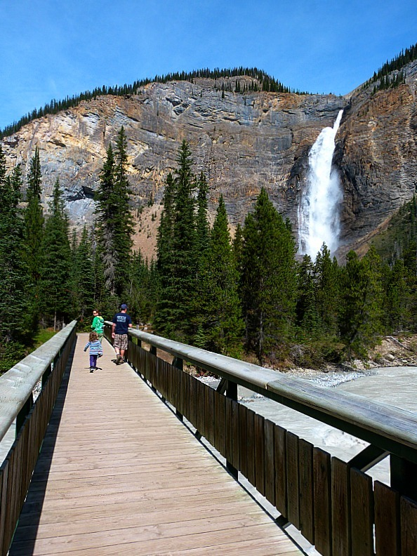 Takakkaw Falls in Yoho National Park, Canada - a Rocky Mountain Road Trip must