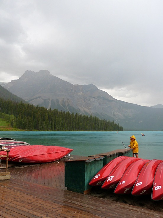 Emerald Lake in Yoho National Park, Canada - a Rocky Mountain Road Trip must