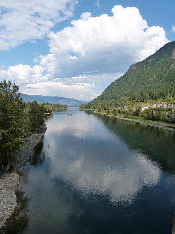 Hiking around Shuswap Lake in British Columbia