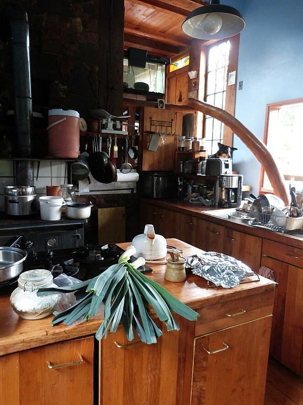 My Help X host's house on Denman Island in Canada