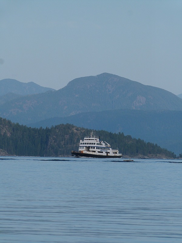 Cortes Island ferry from Heriot Bay, Quadra Island