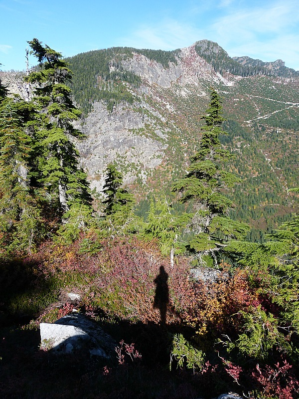 Hiking in the mountains near Vancouver, Canada