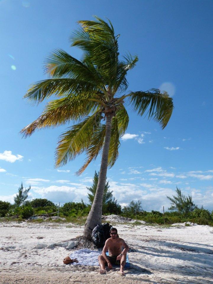 Punta Sam beach near Cancun, Mexico