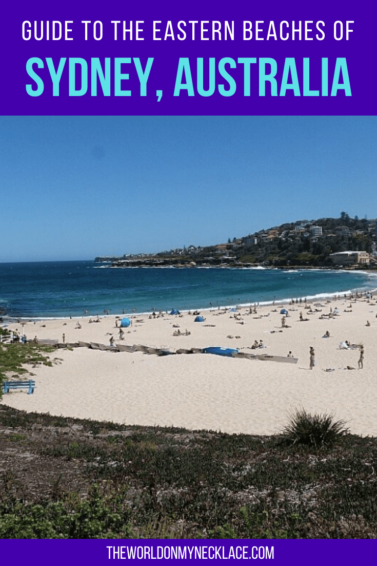Guide to the Eastern Beaches of Sydney, Australia