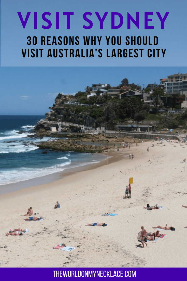 30 Reasons Why you Should Visit Sydney