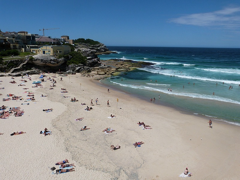 Tamarama beach on Sydney's Eastern Beaches