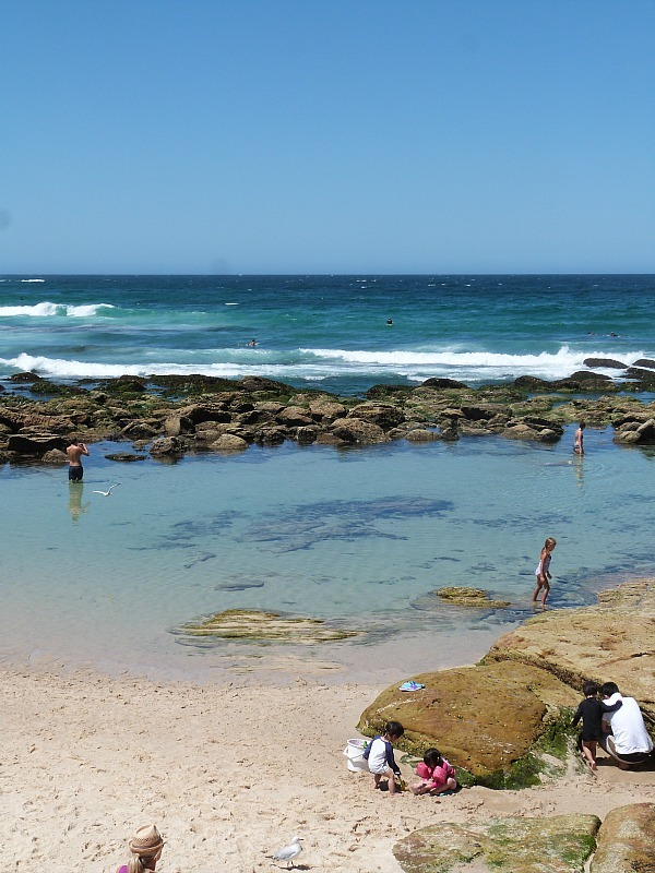 Bronte beach rock pool on Sydney's Eastern Beach