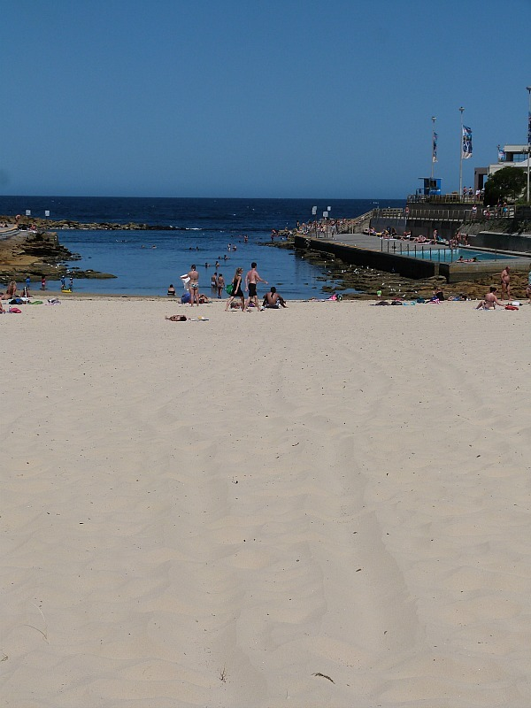 Clovelly beach on Sydney's Eastern Beach