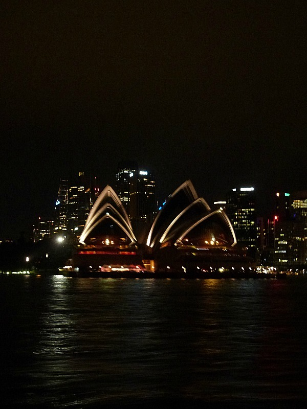 City skyline at night - One of the 30 reasons why I love Sydney