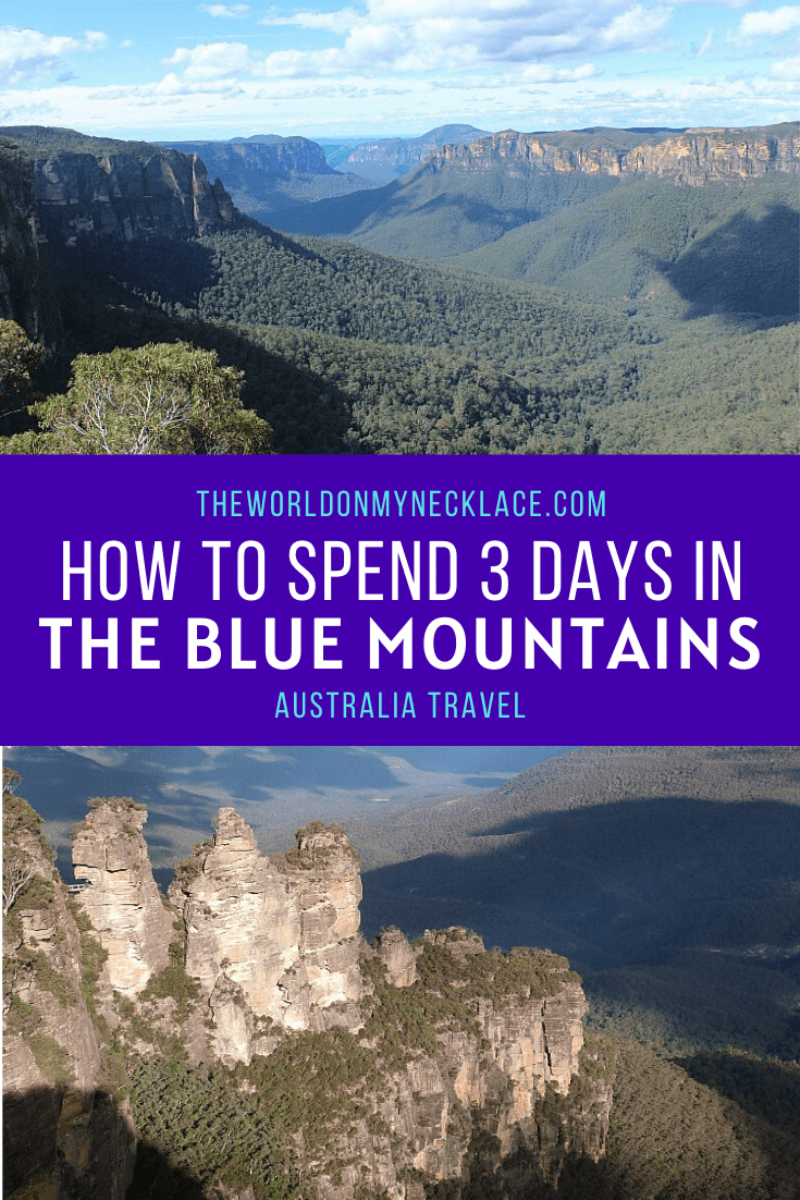 Best Blue Mountains Itinerary for 3 Days