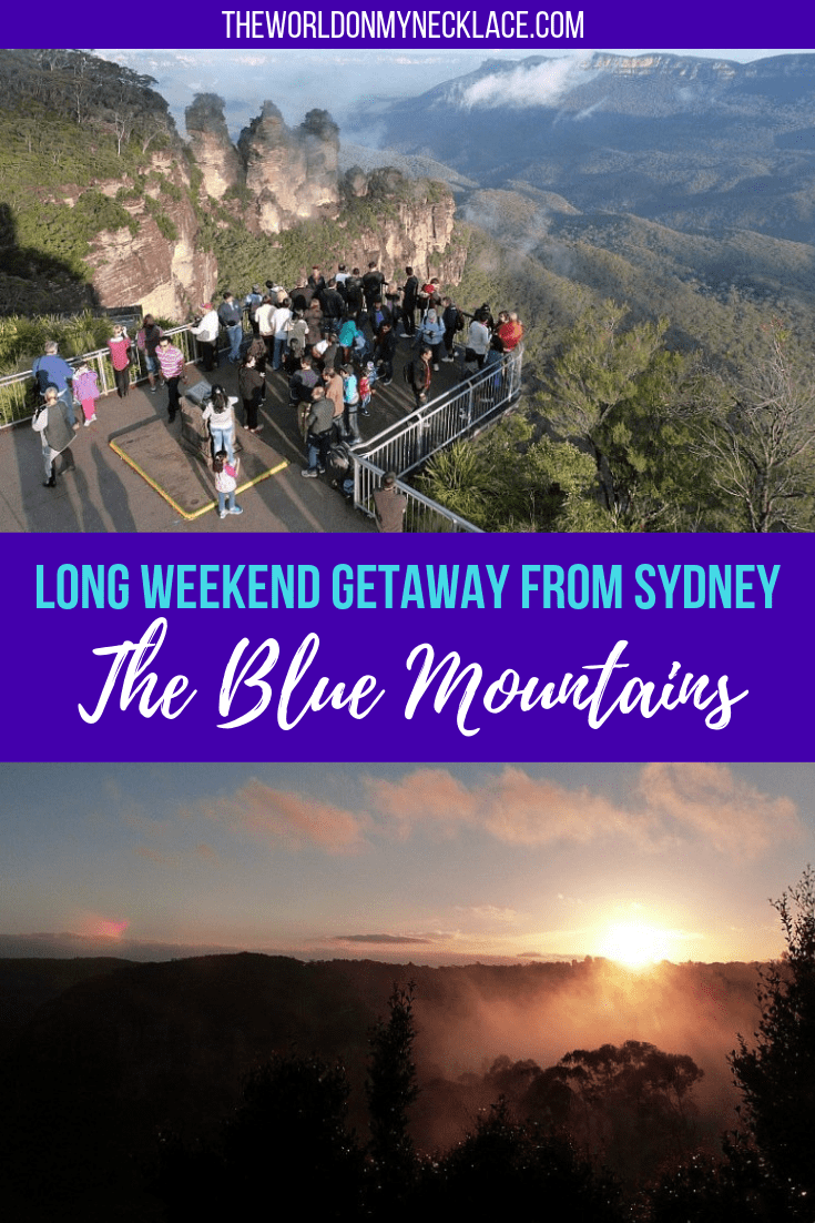 Long Weekend Blue Mountains Itinerary