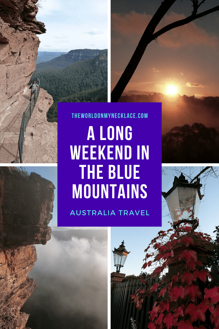 The Best Long Weekend Blue Mountains Getaway