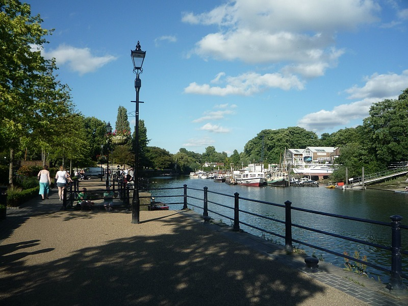 Beautiful Richmond riverside in London