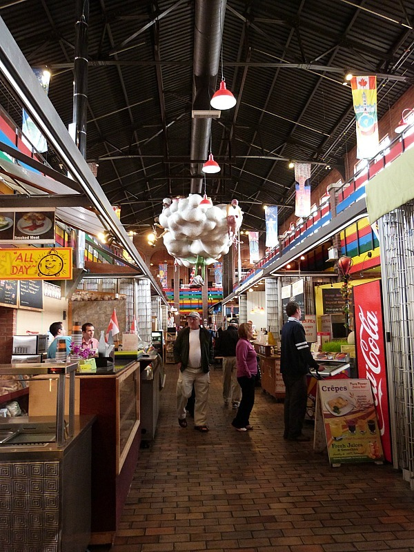 Great food options at ByWard Market, Ottawa
