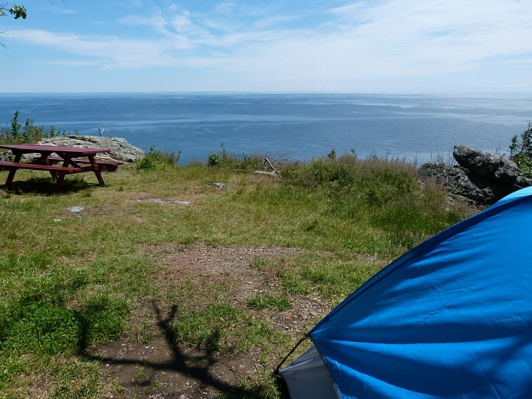 Our amazing site on Grand Manan Island