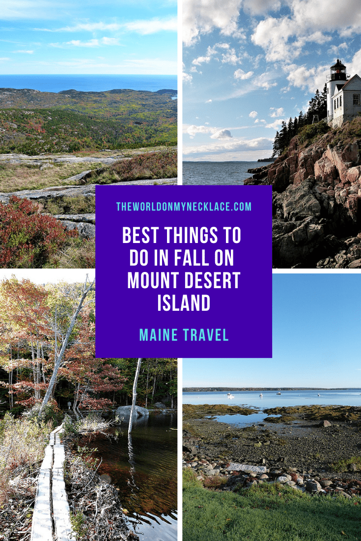 Best Things to do in Fall on Mount Desert Island in Maine