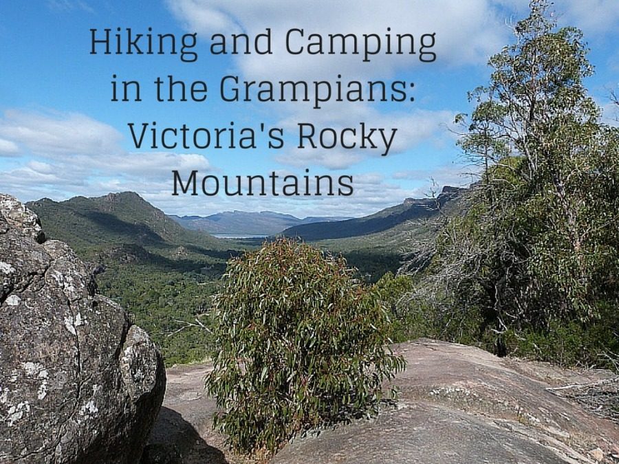 Hiking and Camping in the Grampians