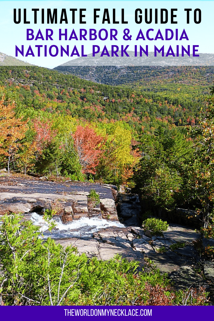 Ultimate Fall Guide to Bar Harbor and Acadia National Park in Maine