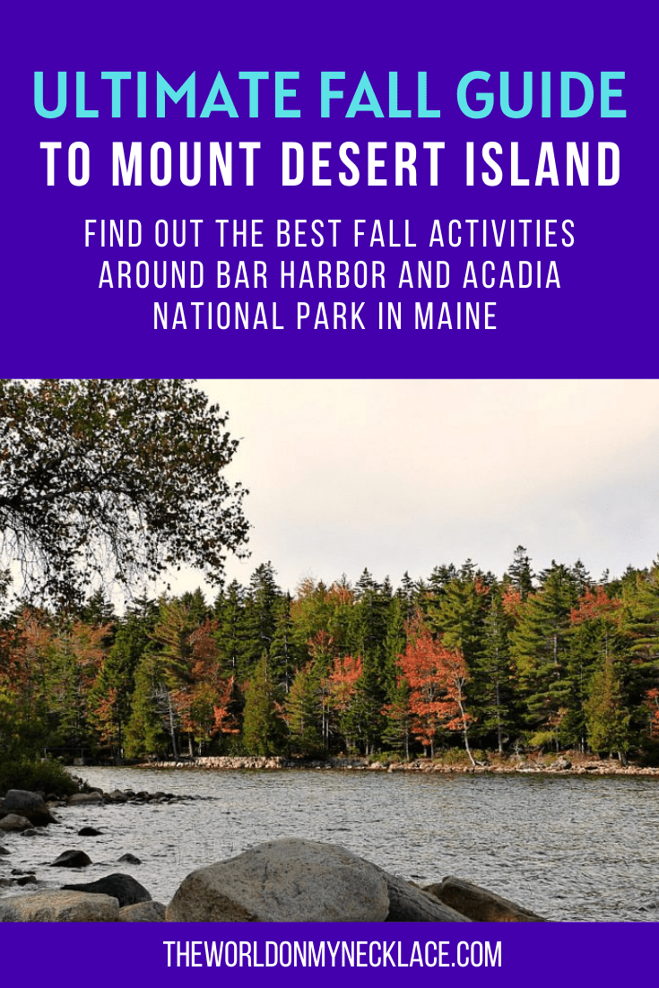 Ultimate Fall Guide to Mount Desert Island, Maine