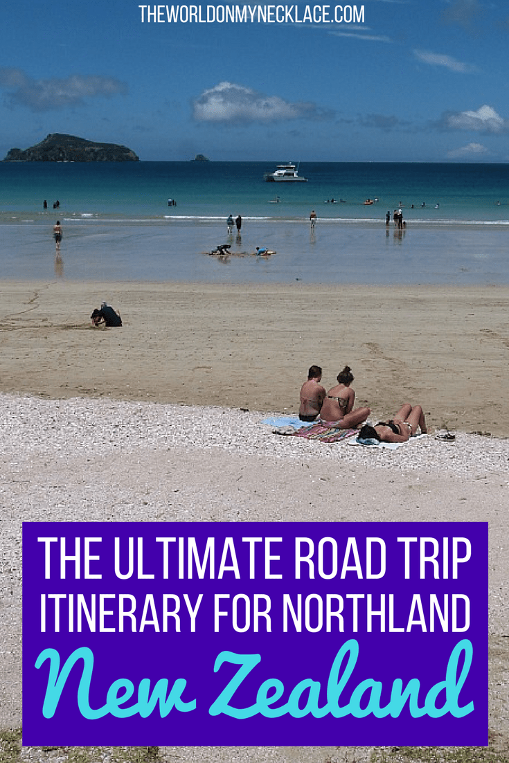 Northland Road Trip to the top of New Zealand