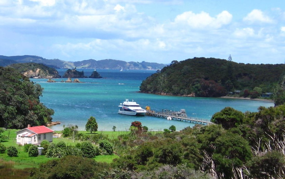 Urupukapuka Island in the Bay of Islands