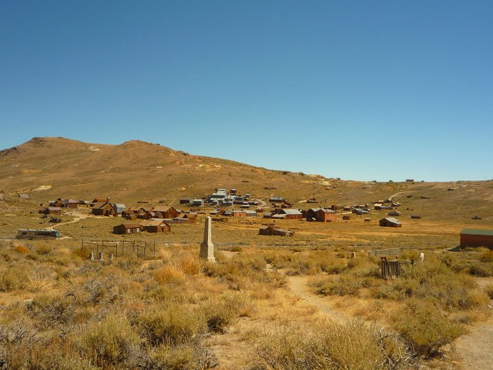 Bodie Cemetery - one of the best cemeteries to visit around the world