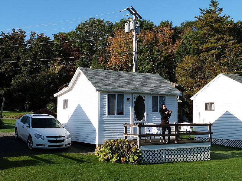 Our cabin in Salisbury Cove, Mount Desert Island, Maine