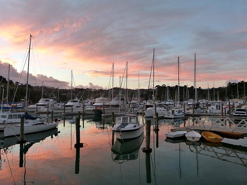 Tutukaka Marina - a highlight of any Northland New Zealand Road Trip Itinerary