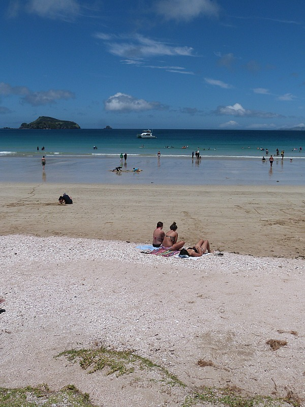 Beautiful beaches in Northland New Zealand - a highlight of any Northland New Zealand Road Trip Itinerary