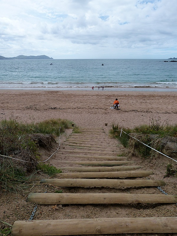 Tauranga Bay in Northland, New Zealand - a highlight of any Northland New Zealand Road Trip Itinerary