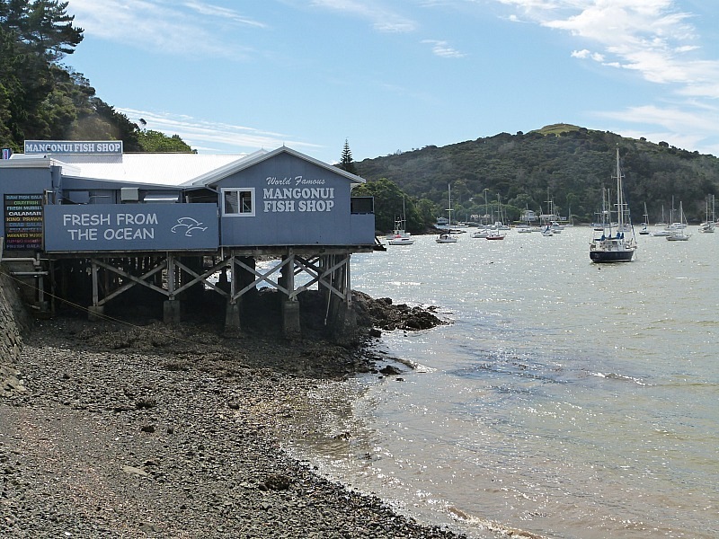 Mangonui in Northland, New Zealand