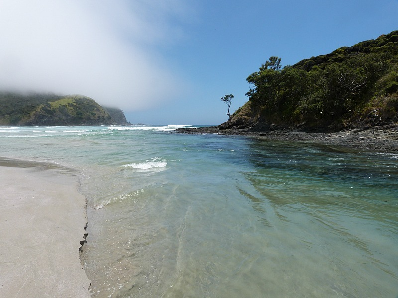 Tapotupotu Bay near Cape Reinga in Northland - a highlight of any Northland New Zealand Road Trip Itinerary
