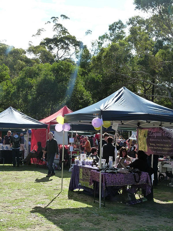 Farmers Market in Halls Gap - Grampians National Park, Victoria