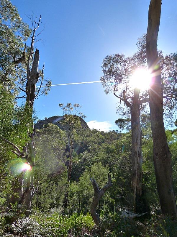 Hiking to Chataqua Peak in Grampians National Park, Victoria