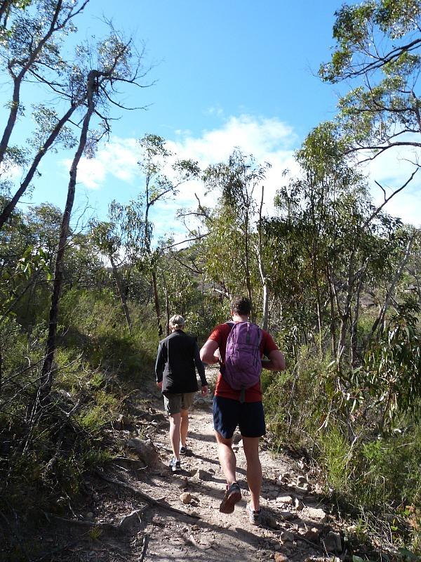 Hiking to Chatauqua Peak in Grampians National Park, Australia