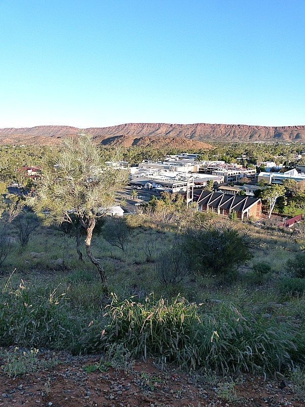 Sunset at Anzac Hill in Alice Springs