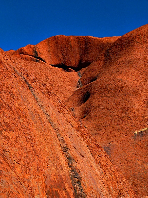 The colour of Uluru in the Australian Outback was something special