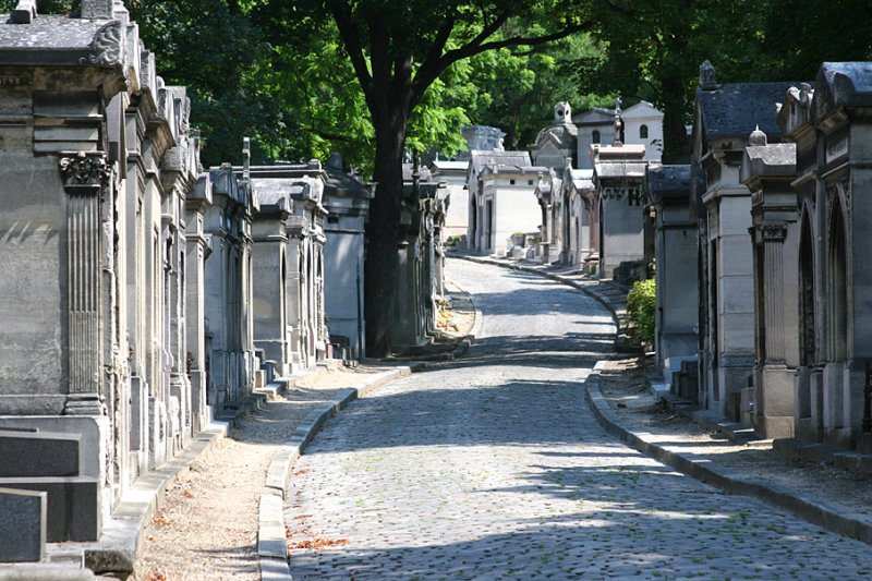 Pere-Lachaise Cemetery in Paris - one of the best cemeteries to visit around the world